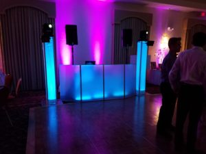 Sweet 16 at The Eastonian in Easton, Pa Lehigh Valley with uplighting fun dj's
