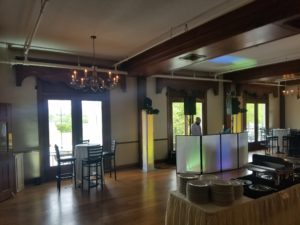 Catasauqua High School 2018 Prom Uplighting, Monogram Steel club in Hellertown,Pa Lehigh Valley