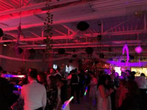 Guests on the dance floor in Whitehall,Pa at a quinceanera/ Sweet 16 Lehigh Valley