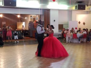 Father daughter dance at a sweet 16 in Allentown, Pa Lehigh Valley Appalachian Entertainment DJ's